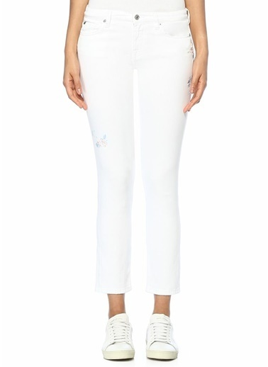 7 For All Mankind Pantolon Beyaz